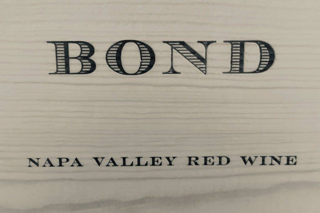 Bond Estate Napa Valley Vinos de California EE.UU - Caskadia vinos Barcelona