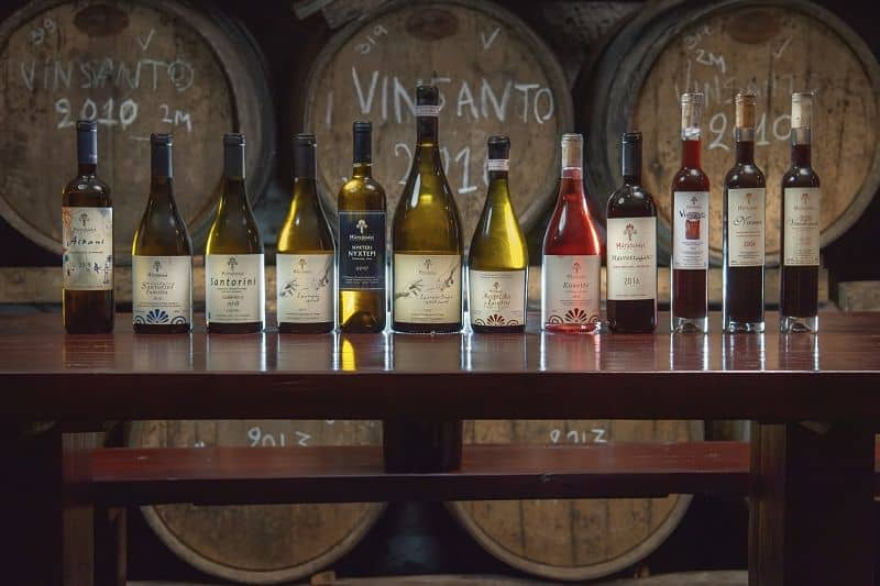Hatzidakis Winery Vinos de Caskadia